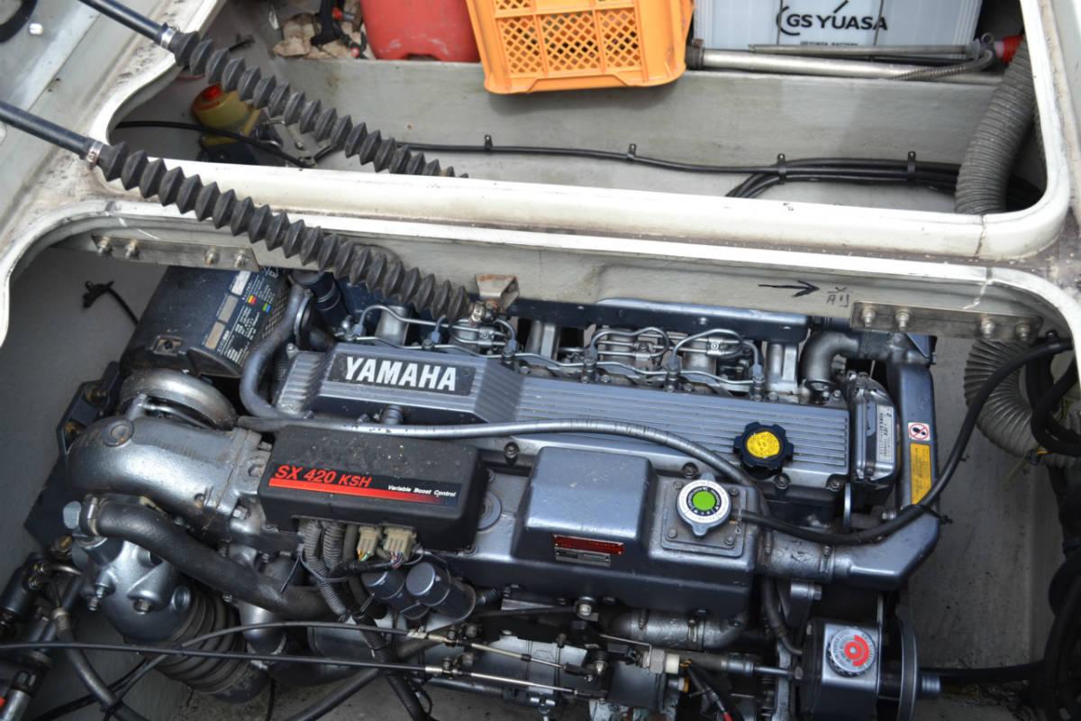 ヤマハSR25 継続係留相談可 船底シートもお付けします。_画像3