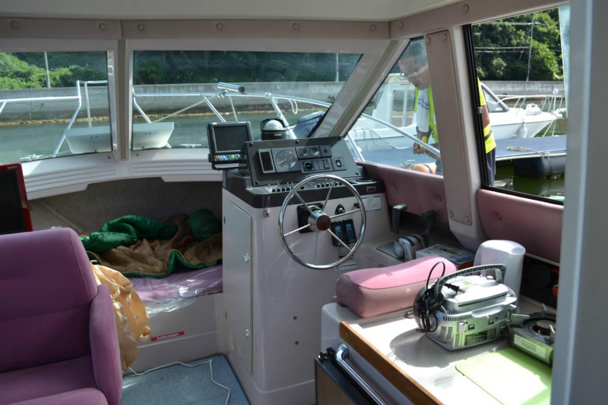 ヤマハSR25 継続係留相談可 船底シートもお付けします。_画像4