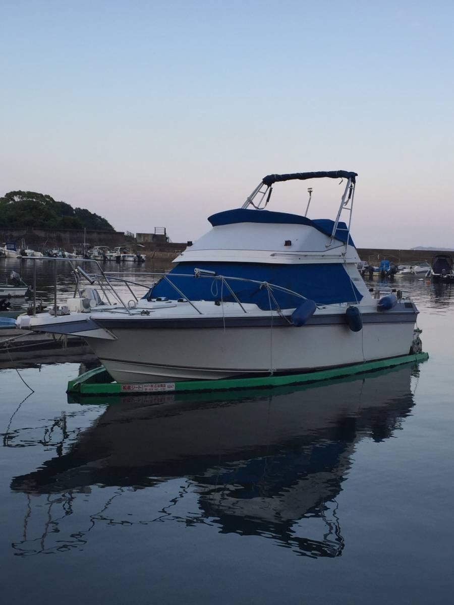 ヤマハSR25 継続係留相談可 船底シートもお付けします。