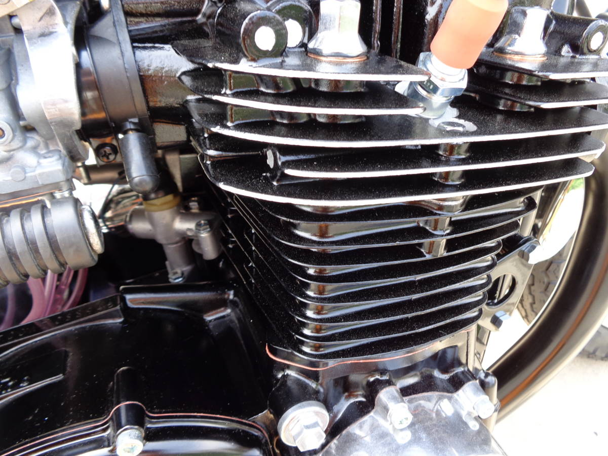 耐熱塗料 AREA  トップヒート  艶有黒 CB CBX CBR VF VT VFR NSR NS モンキー ガブ モトラ_画像3