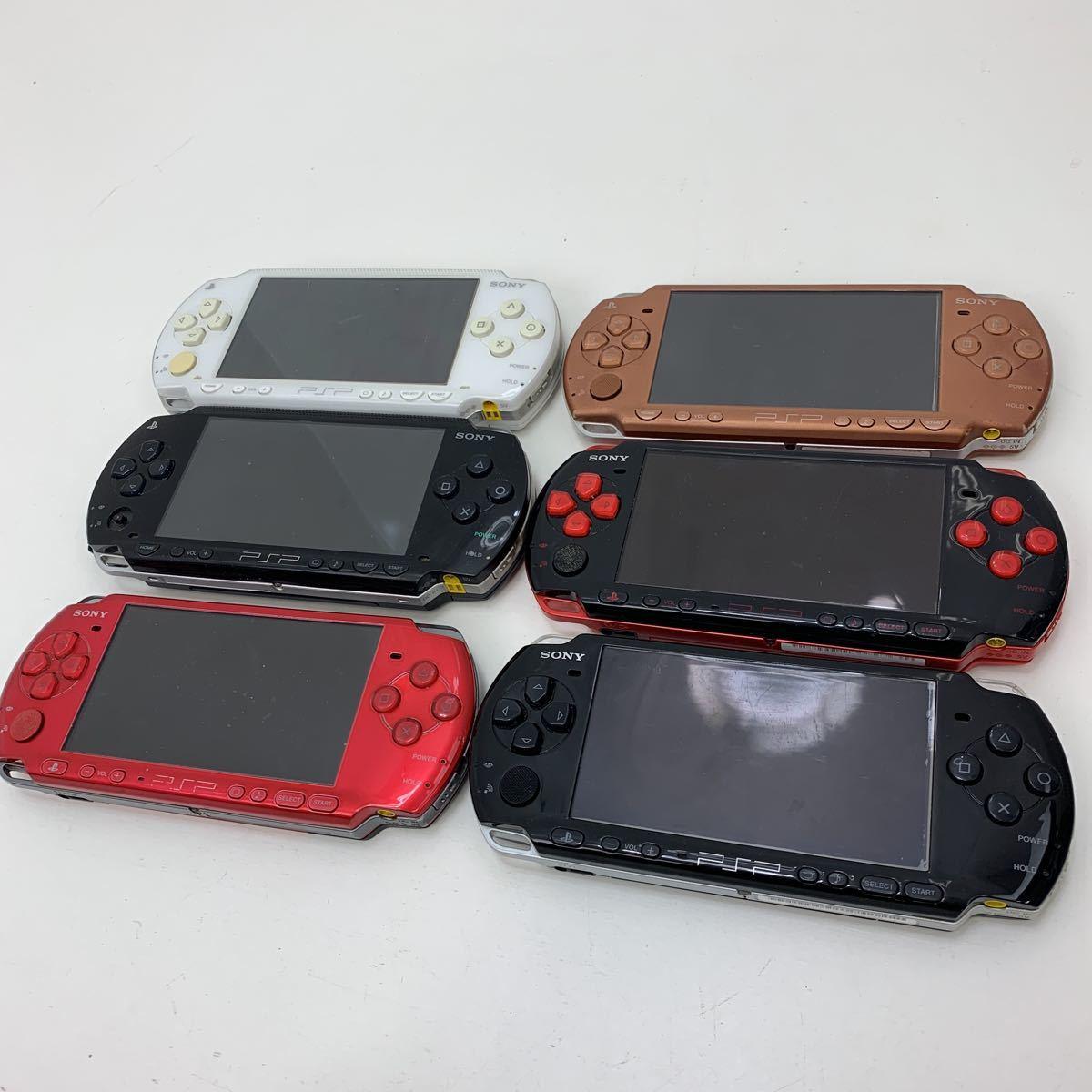 ソニー SONY 現状品 / PSP-3000 3台 / PSP-2000 1台 / PSP-1000 2台 / 計6台セット 現状品