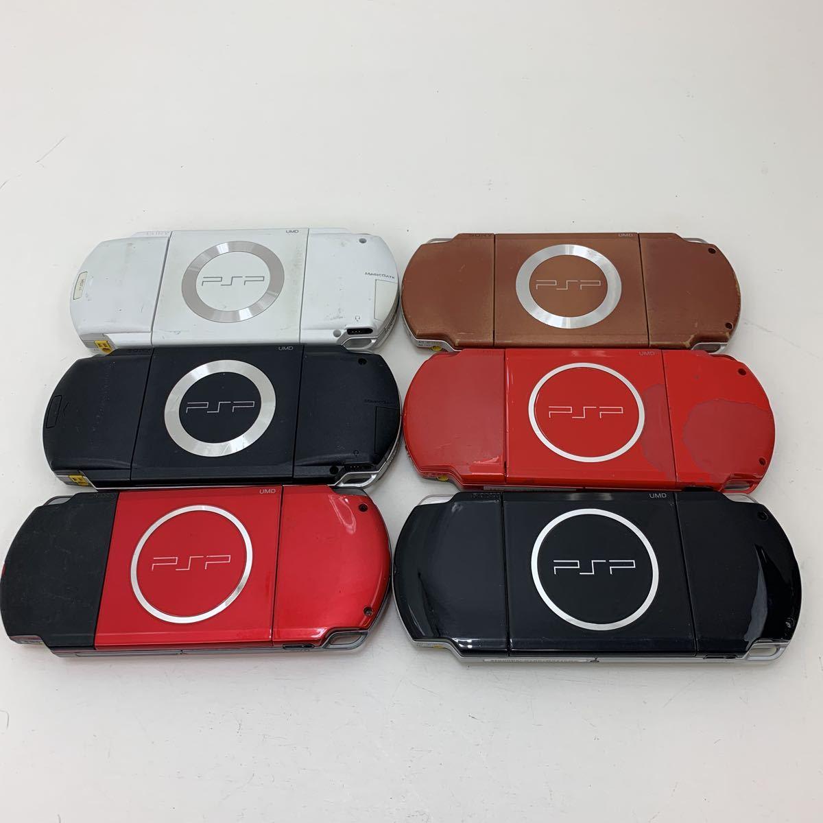 ソニー SONY 現状品 / PSP-3000 3台 / PSP-2000 1台 / PSP-1000 2台 / 計6台セット 現状品_画像3