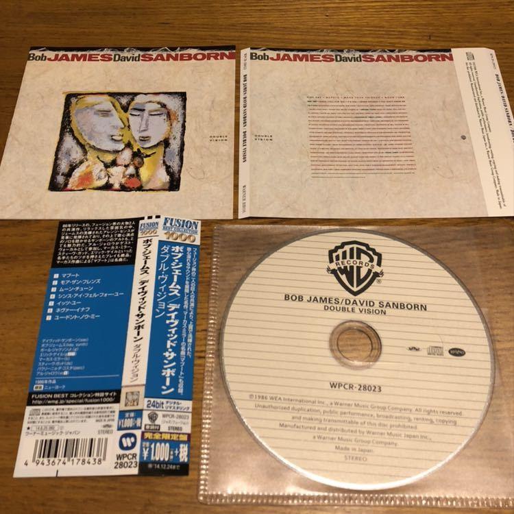 美品 CD 帯付き フォープレイ ボブ・ジェームス デイヴィッド・サンボーン 4枚セット 日本語解説有Fusion Best Collection 1000 送料180円_画像6