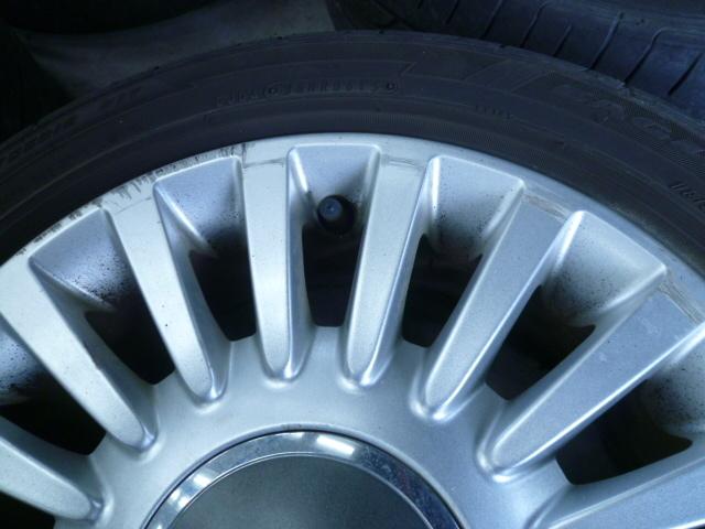 フィアット FIAT 500 純正 15インチ アルミホイール 185/55R15 PCD98 4穴 中古_画像7
