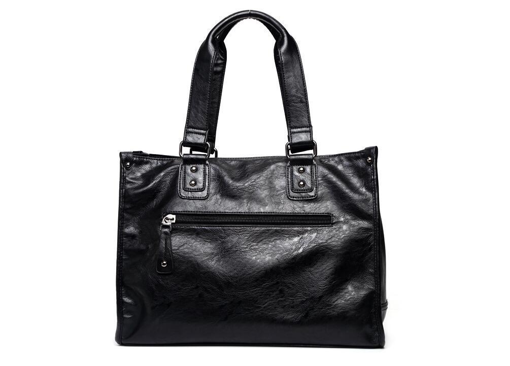 絶賛発売中商品 高品質トートバッグ 通勤書類鞄 男女兼用 大容量 PC14 A4対応 ビジネスバッグ 収納便利鞄_画像5