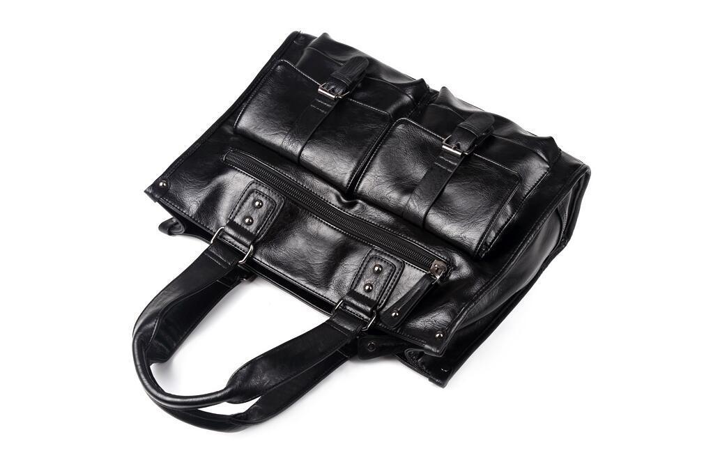 絶賛発売中商品 高品質トートバッグ 通勤書類鞄 男女兼用 大容量 PC14 A4対応 ビジネスバッグ 収納便利鞄_画像6