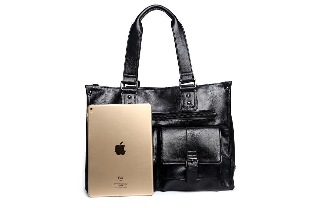 絶賛発売中商品 高品質トートバッグ 通勤書類鞄 男女兼用 大容量 PC14 A4対応 ビジネスバッグ 収納便利鞄_画像3
