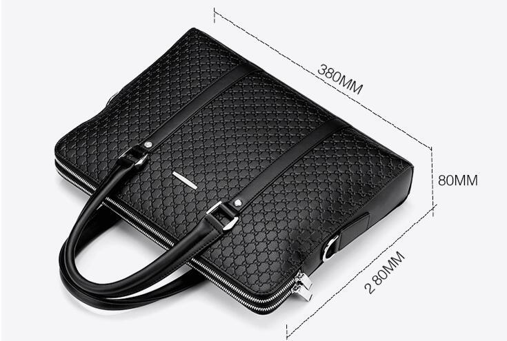 高品質トートバッグ 通勤書類鞄 男女兼用 大容量 PC14 A4対応 ビジネスバッグ 収納便利鞄_画像4