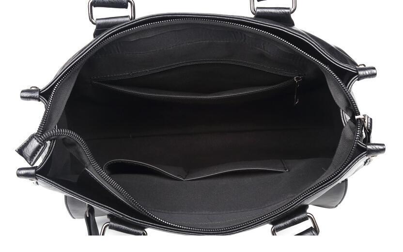 絶賛発売中商品 高品質トートバッグ 通勤書類鞄 男女兼用 大容量 PC14 A4対応 ビジネスバッグ 収納便利鞄_画像8