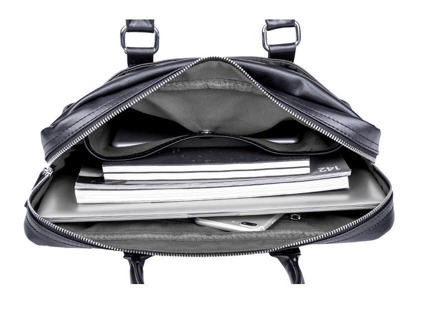 絶賛発売中商品 高品質トートバッグ 通勤書類鞄 男女兼用 大容量 PC14 A4対応 ビジネスバッグ 収納便利鞄_画像9