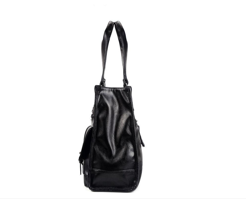 絶賛発売中商品 高品質トートバッグ 通勤書類鞄 男女兼用 大容量 PC14 A4対応 ビジネスバッグ 収納便利鞄_画像4