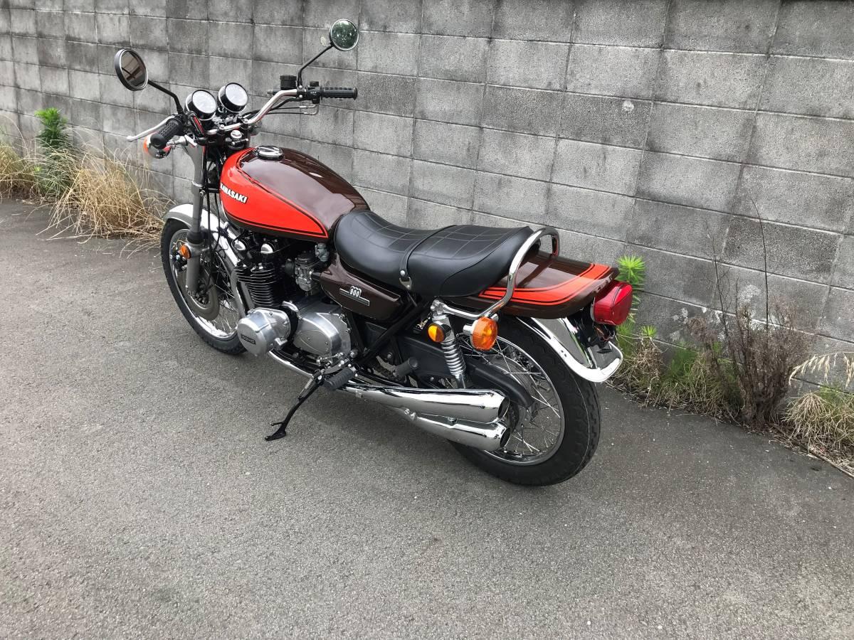 KAWASAKI Z1 Z900 Z1E 実働車 Z2 Z750 名車 MK2 FX400 旧車 1円~_画像2