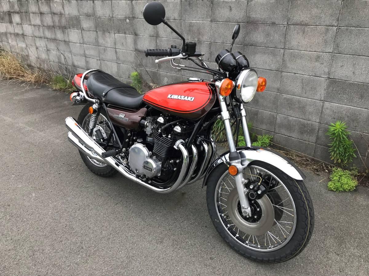 KAWASAKI Z1 Z900 Z1E 実働車 Z2 Z750 名車 MK2 FX400 旧車 1円~_画像3