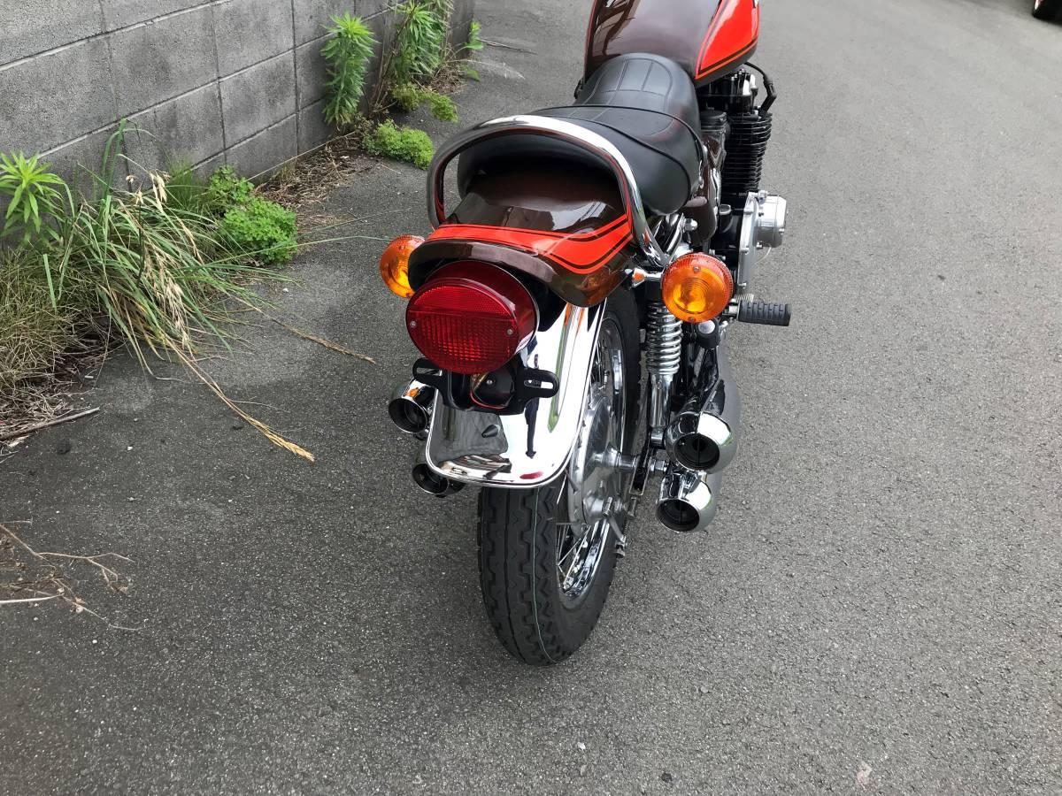 KAWASAKI Z1 Z900 Z1E 実働車 Z2 Z750 名車 MK2 FX400 旧車 1円~_画像6