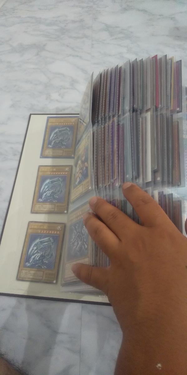 遊戯王 レリーフコレクションファイル ブルーアイズ 開闢 レッドアイズ ブラマジ 計370枚以上