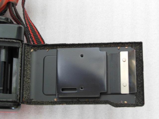 Konica コニカ C35 EF3 赤 HEXANON F2.8 35mm コンパクトフィルムカメラ_画像6