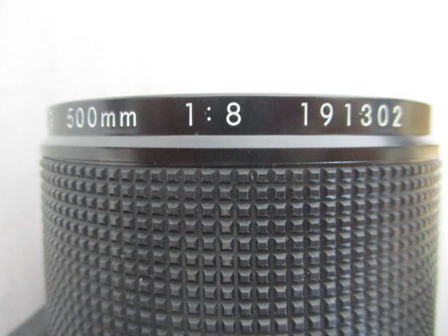 Nikon Reflex-NIKKOR 500mm F8 ニコン ミラーレンズ ジャンク_画像7