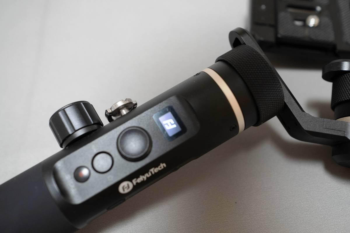 ジンバル FeiyuTech G6 plus ミラーレス アクションカム対応_画像6