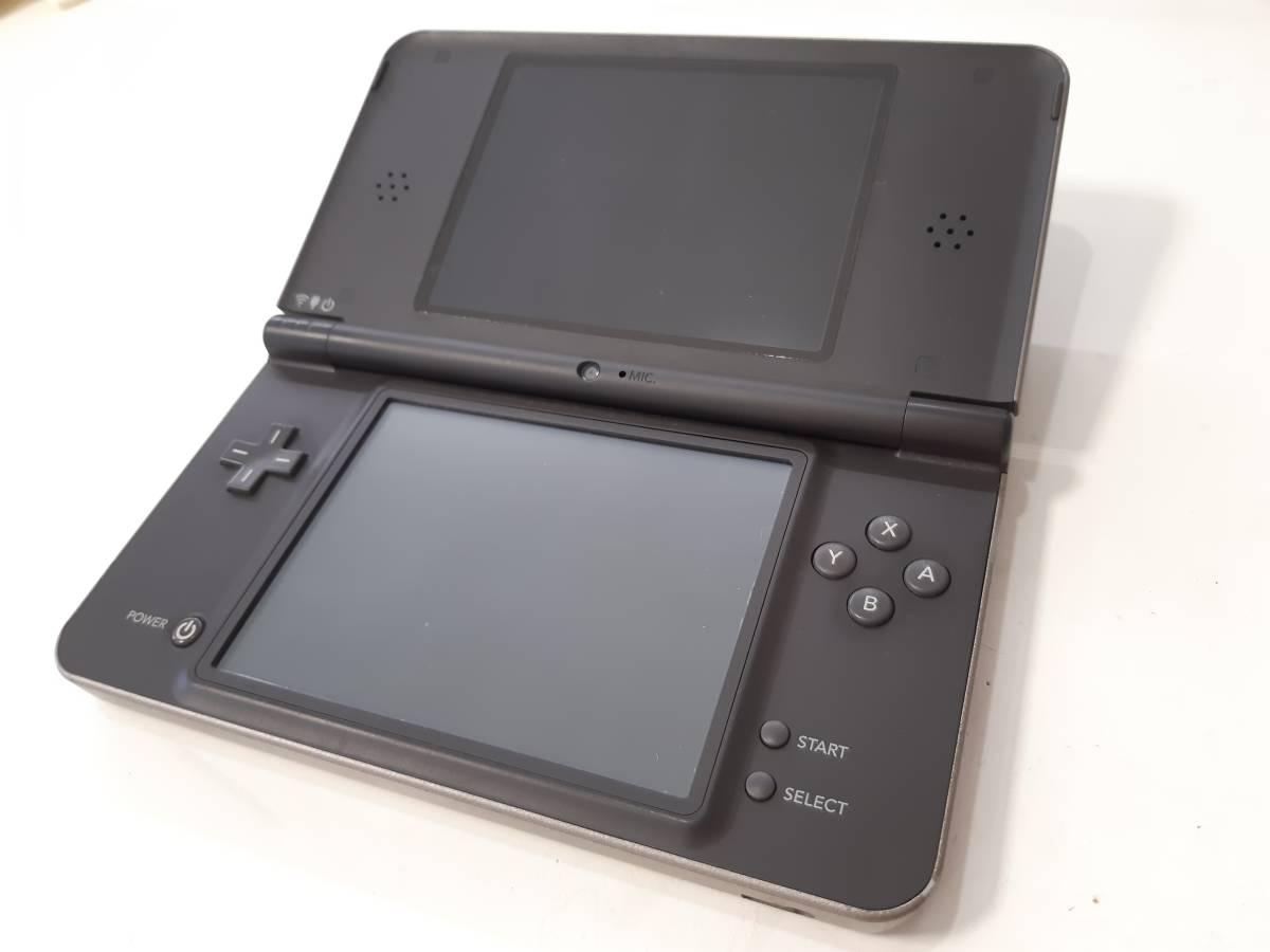 【動作確認済み】《即決有り》Nintendo 任天堂 DSiLLダークブラウン本体_画像2