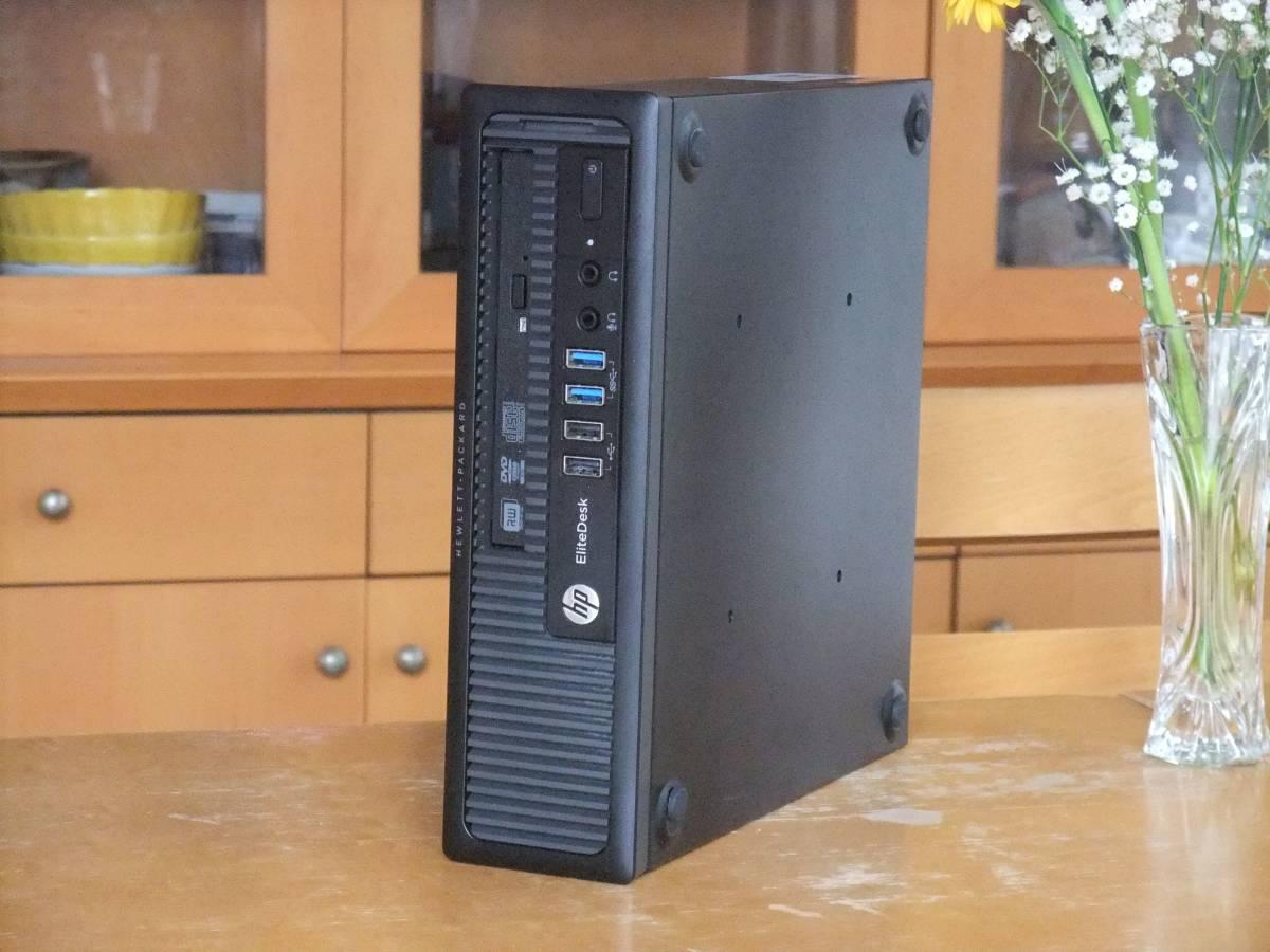 ○超高速小型 i7-4790 4.0Gx8/新SSD1TB/16Gメモリ/Win10/MS Office2019/無線LAN(WI-FI)/USB3.0/静音/領収証可/送料無料/ProDesk600USF