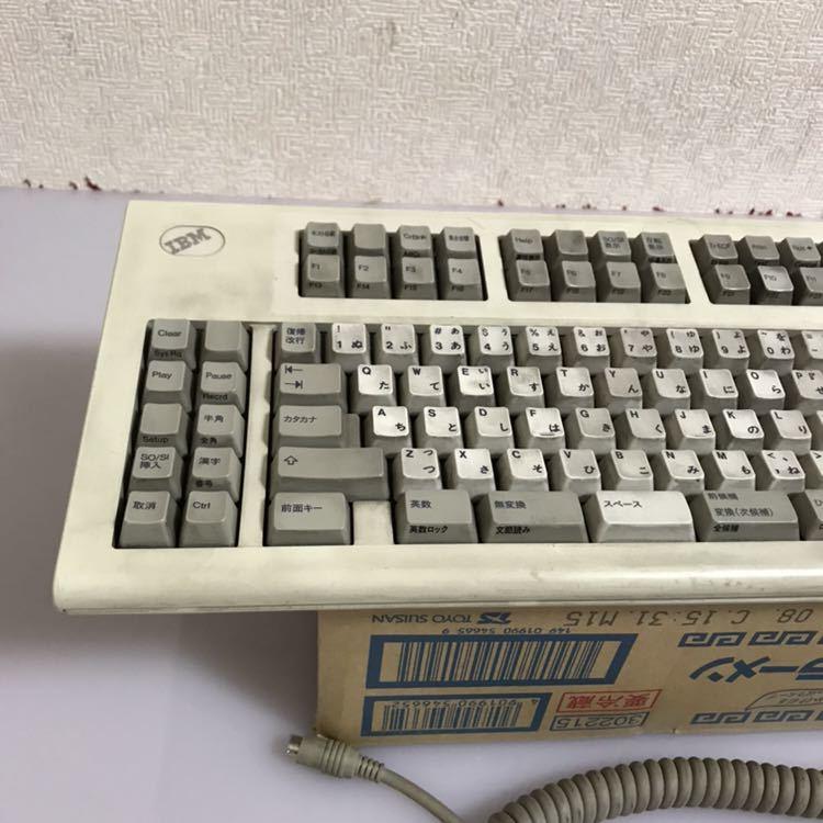 IBM メカニカルキーボード 3479JA1 (3479-JA1)ジャンク品_画像2