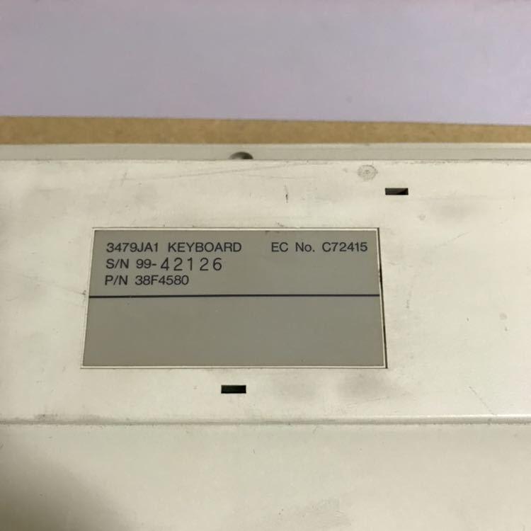 IBM メカニカルキーボード 3479JA1 (3479-JA1)ジャンク品_画像5