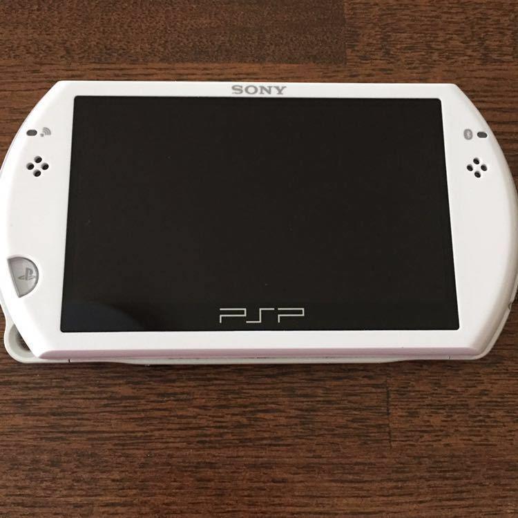 SONY 【PSP go 】16GB プレイステーションポータブル 中古品_画像4