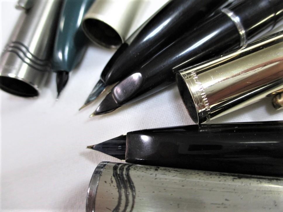 旧タイプ・プラチナ万年筆/オネスト・66・22Kニブ等 計4本 です。_画像4