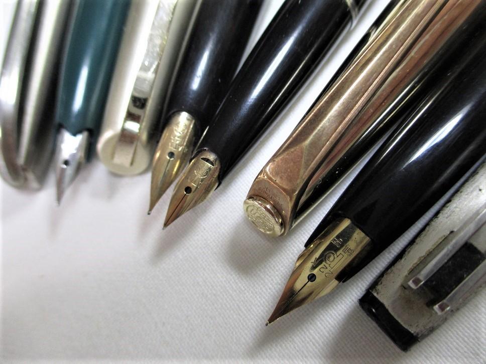 旧タイプ・プラチナ万年筆/オネスト・66・22Kニブ等 計4本 です。_画像2