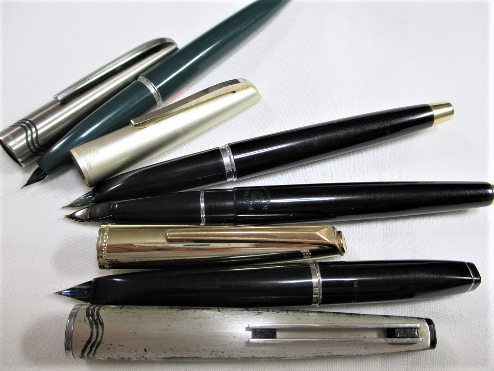 旧タイプ・プラチナ万年筆/オネスト・66・22Kニブ等 計4本 です。_画像3
