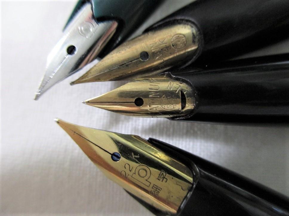 旧タイプ・プラチナ万年筆/オネスト・66・22Kニブ等 計4本 です。_画像5
