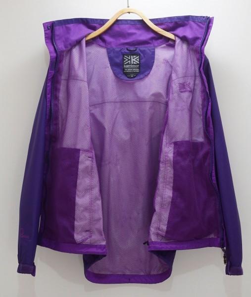 Karrimorカリマー 防水透湿Weathertiteジャケット レディース英国10号 日本M~L相当 パープル_画像3