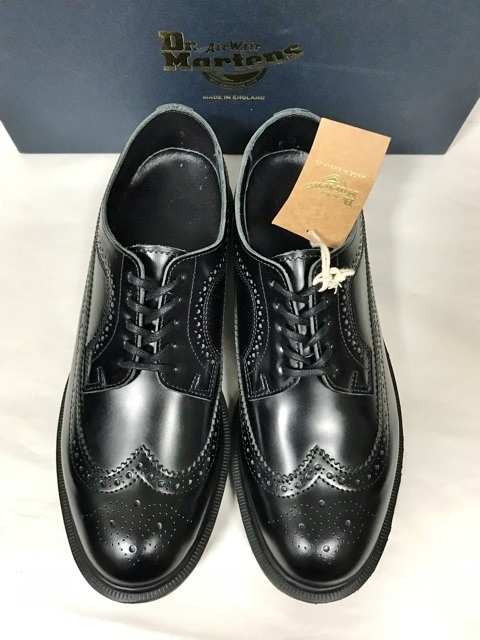 新品 ドクターマーチン Dr.Martens イギリス製 ビジネスシューズ 革靴 ポストマンシューズ レザーシューズ UK 冠婚葬祭 ブーツ ブラック_画像5