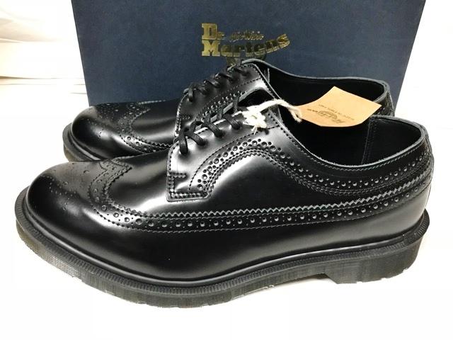 新品 ドクターマーチン Dr.Martens イギリス製 ビジネスシューズ 革靴 ポストマンシューズ レザーシューズ UK 冠婚葬祭 ブーツ ブラック_画像2