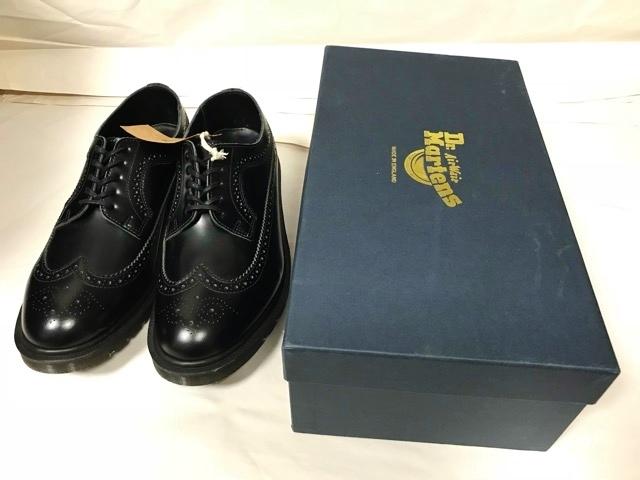 新品 ドクターマーチン Dr.Martens イギリス製 ビジネスシューズ 革靴 ポストマンシューズ レザーシューズ UK 冠婚葬祭 ブーツ ブラック_画像10