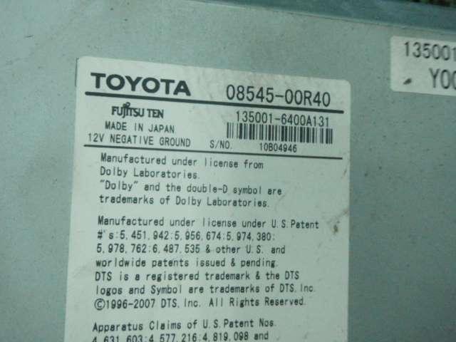 QNC21 bB Z 08545-00R40 純正HDDナビ 310434JJ_画像5