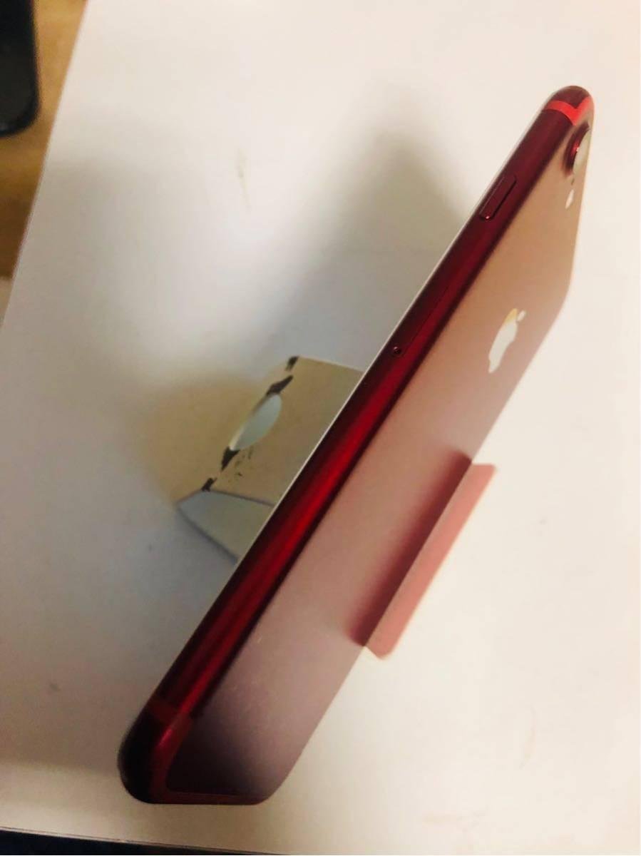 送料無料 iphone 7 128g Red Sim FREE_画像7