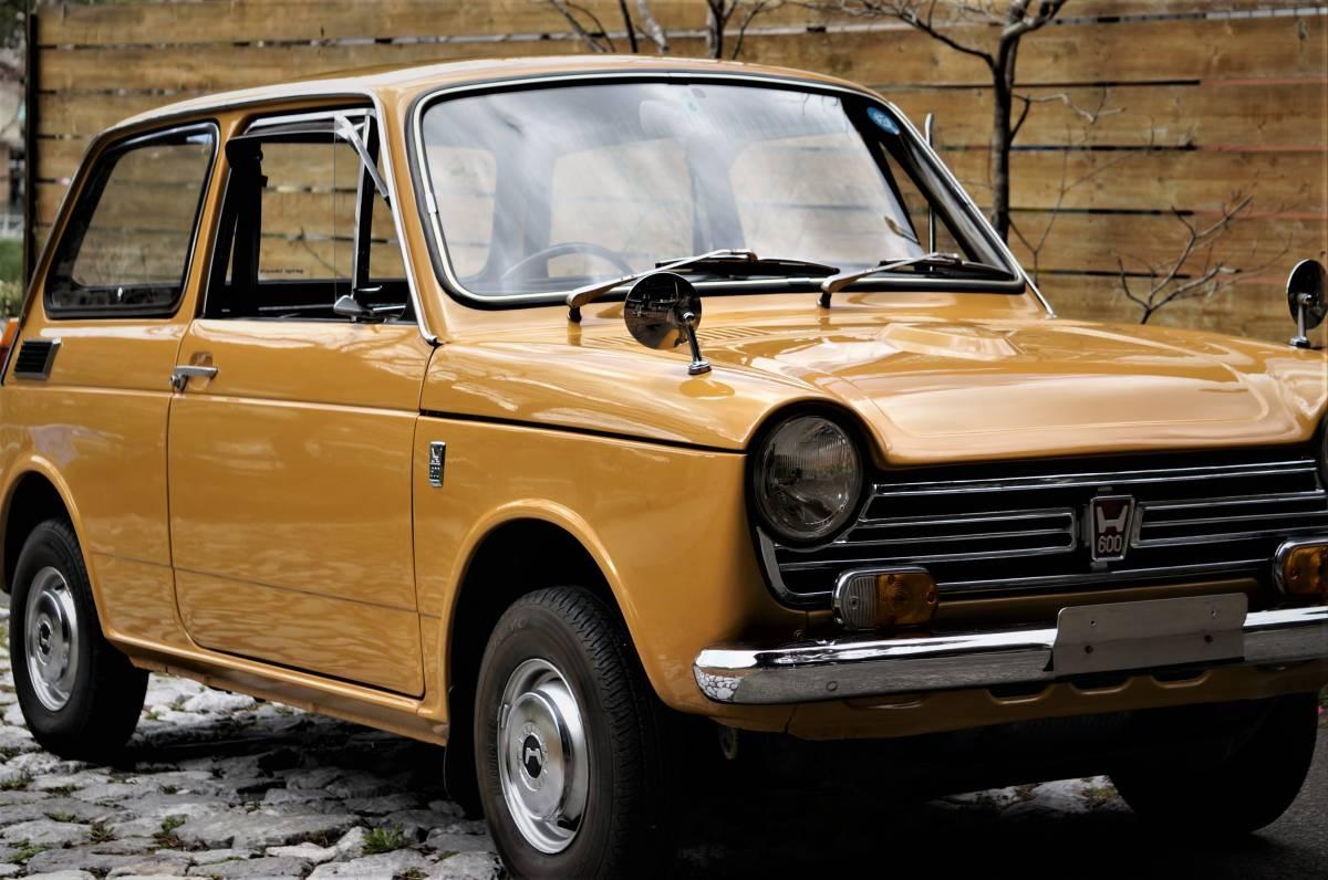 ホンダ N600 England (英国逆輸入) 稀少右ハンドル 実働車 昭和47年製_画像2
