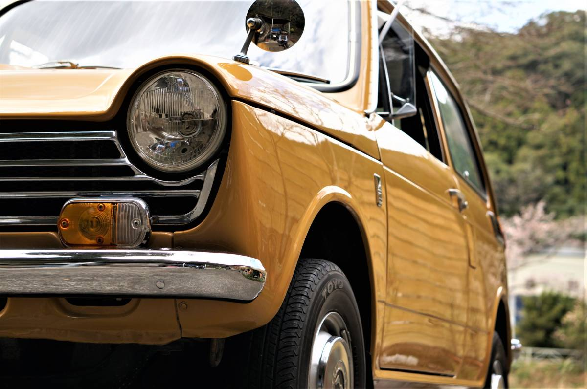 ホンダ N600 England (英国逆輸入) 稀少右ハンドル 実働車 昭和47年製_画像10