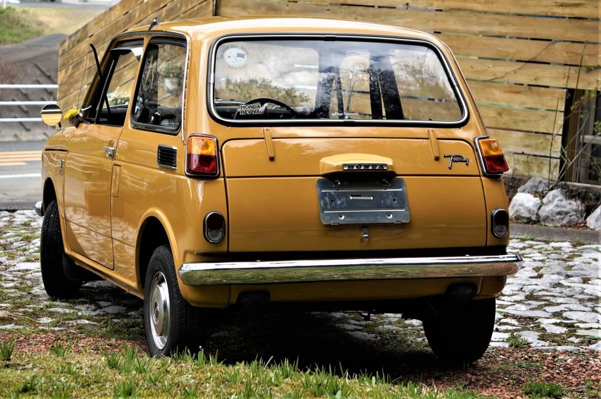 ホンダ N600 England (英国逆輸入) 稀少右ハンドル 実働車 昭和47年製_画像4