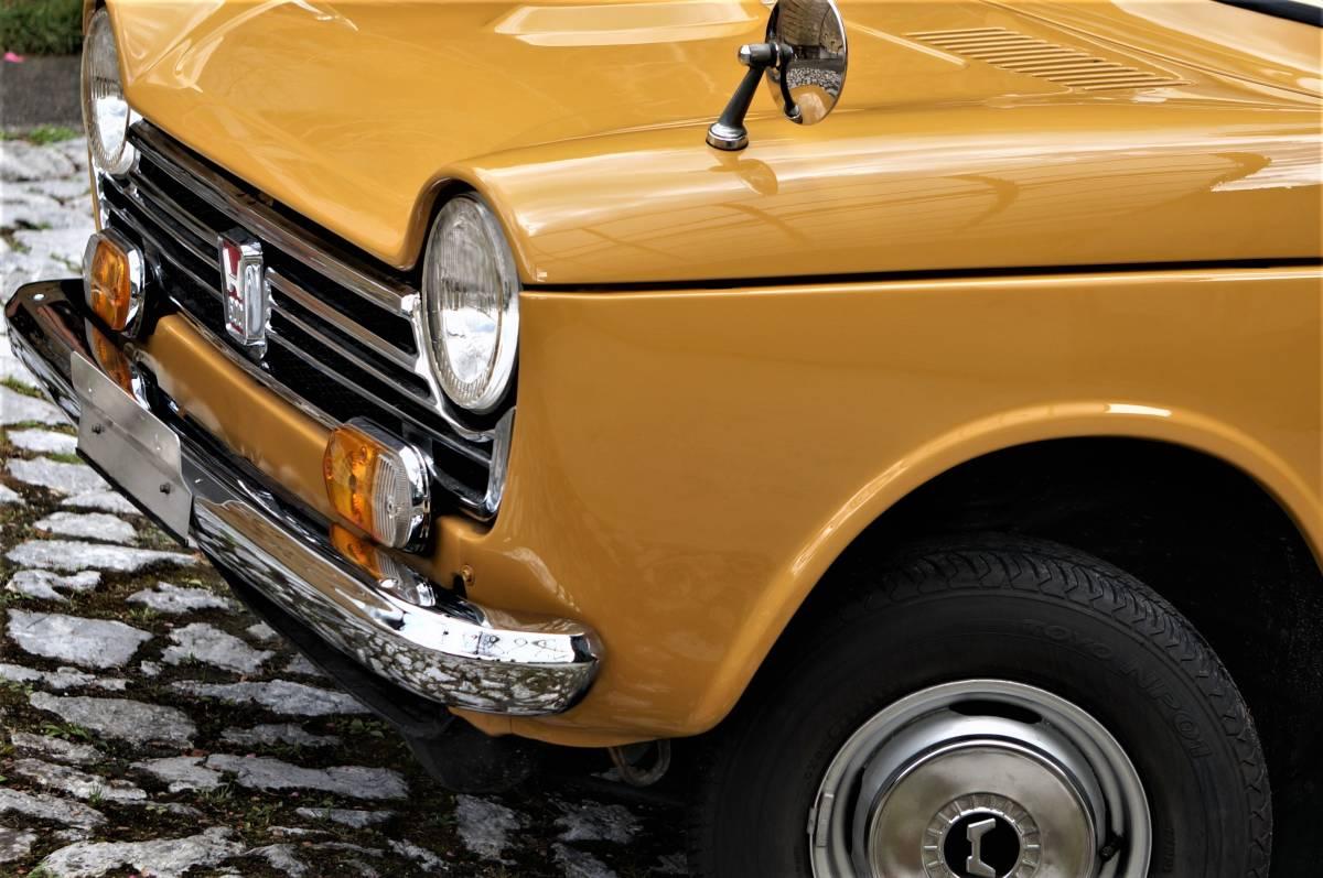 ホンダ N600 England (英国逆輸入) 稀少右ハンドル 実働車 昭和47年製_画像8