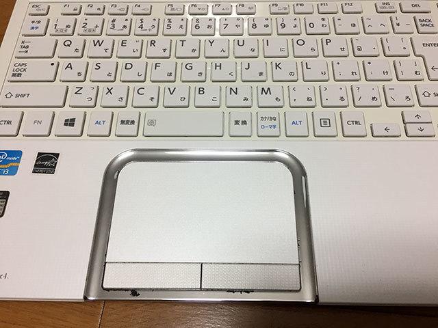 【ジャンク品】東芝dynabook T552/36GWJ HDD500GB メモリ8GB Core i3-3110M (2.40GHz) ブルーレイ_画像4