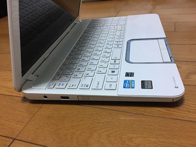 【ジャンク品】東芝dynabook T552/36GWJ HDD500GB メモリ8GB Core i3-3110M (2.40GHz) ブルーレイ_画像5