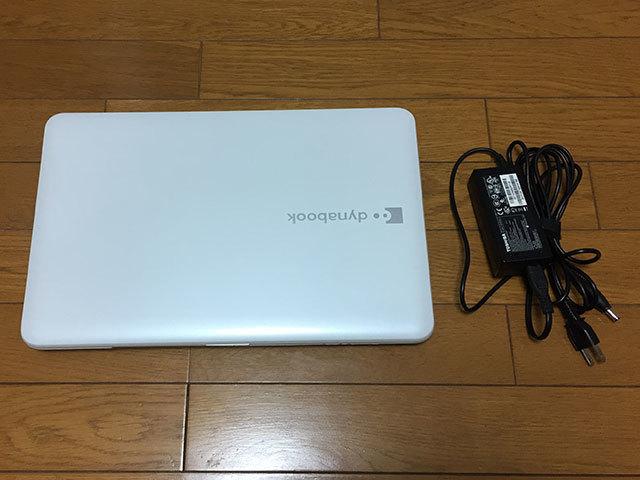【ジャンク品】東芝dynabook T552/36GWJ HDD500GB メモリ8GB Core i3-3110M (2.40GHz) ブルーレイ