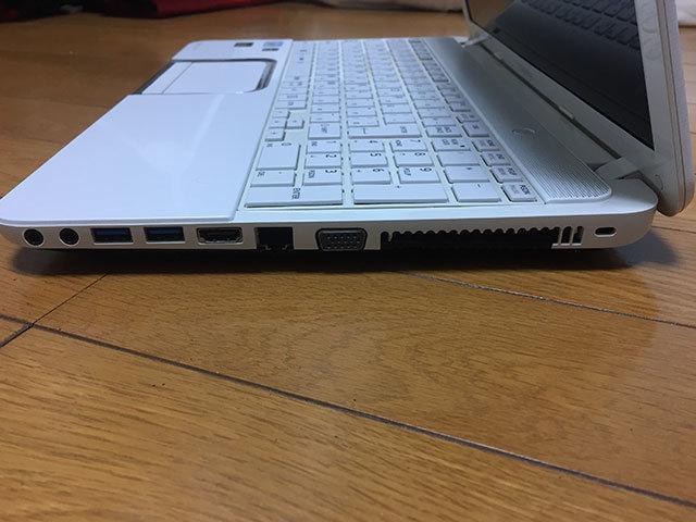 【ジャンク品】東芝dynabook T552/36GWJ HDD500GB メモリ8GB Core i3-3110M (2.40GHz) ブルーレイ_画像6