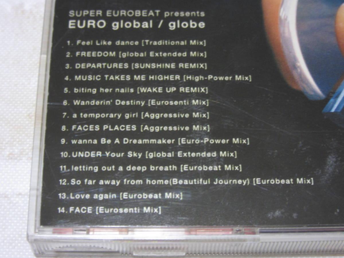 globe ★SUPER EUROBEAT presents EURO global グローブ USED【送料込】_画像7