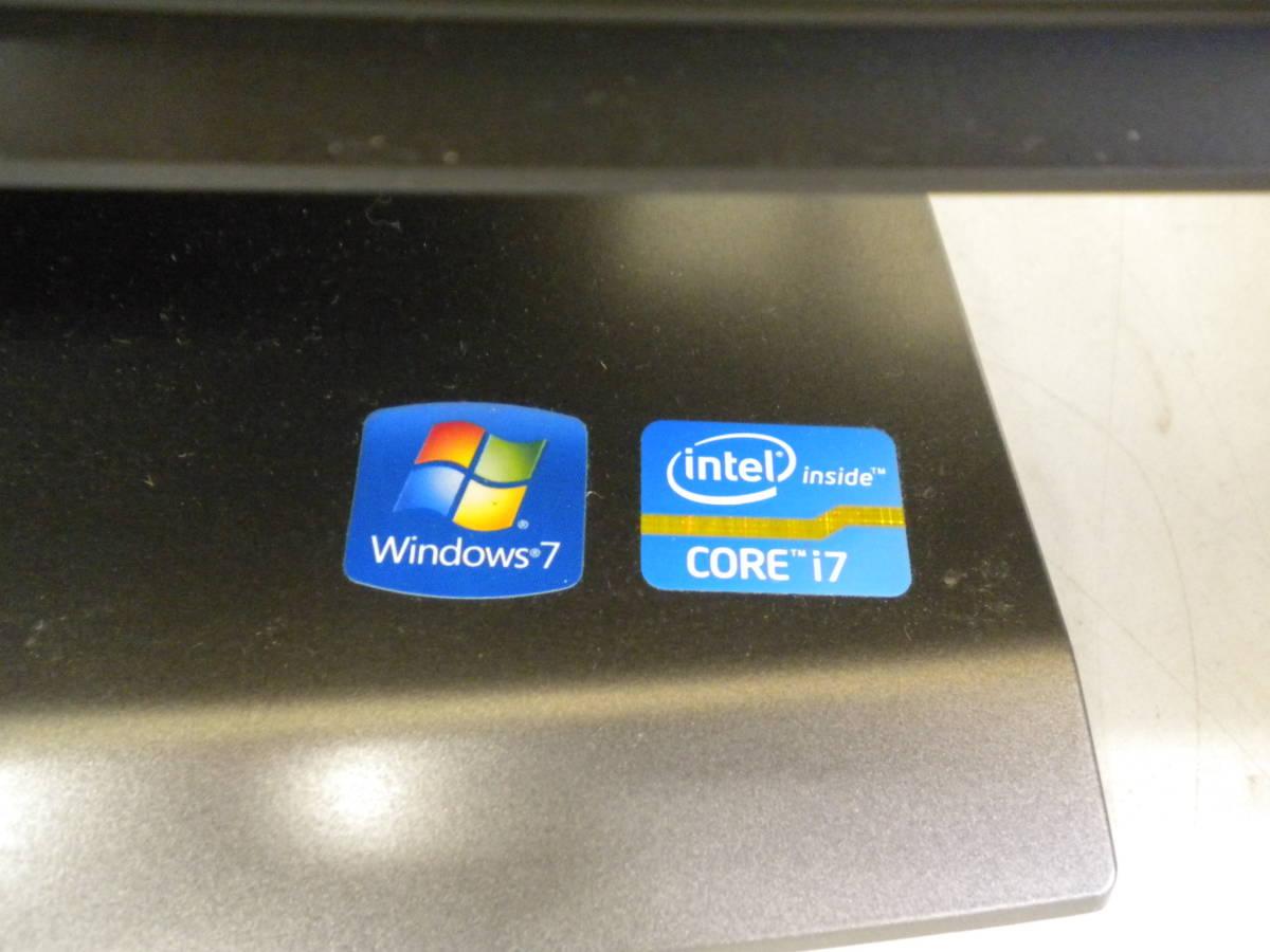 う798 NEC VALUESTAR PC-VW770GS6C Windows7/COREi7 デスクトップパソコン PC モニター一体型_画像6