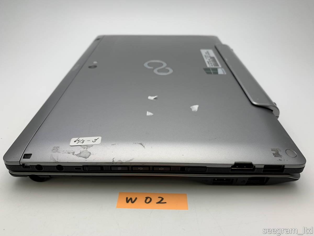 【ジャンク】通電確認済 富士通 STYLISTIC Q702/G 専用キーボードドッグセット windowsタブレットPC Core i5 メモリ4GB 64GB SSD W02_画像6