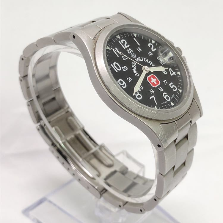 SWISS MILITARY スイスミリタリー 6-413 6-513 メンズ クオーツ 腕時計 R尼0701_画像3