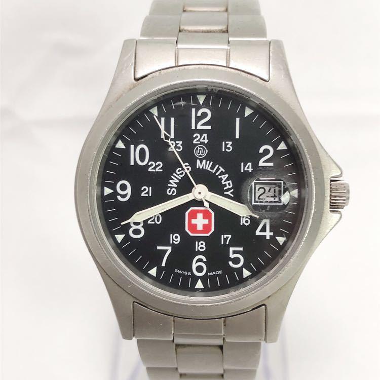 SWISS MILITARY スイスミリタリー 6-413 6-513 メンズ クオーツ 腕時計 R尼0701